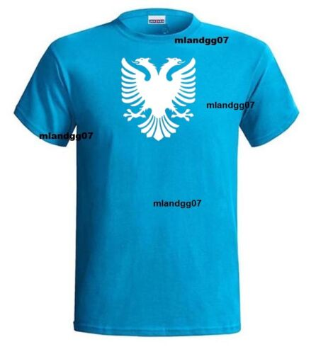 Flag of Albania Eagle T-Shirt  Shirt SIZES S-5XL