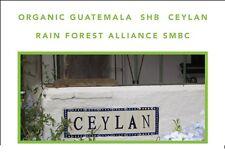 2 lbs Guatemala Organic Finca Ceylan SHG RFA SMBC Light Roast Coffee Beans