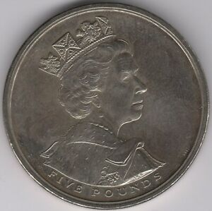 2002-Elizabeth-II-Five-Pounds-Coin-British-Coins-Pennies2Pounds