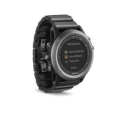 Garmin Fenix 3 Sapphire Multi-Sport Training GPS/GLONASS Fitness Watch