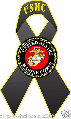 Marines United States Marine Corps Vinyl Car Decal Decals USMC Semper Fi AY050