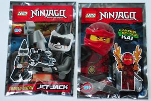 LEGO Ninjago KAI /& JET JACK  Polybag Limited Edtion NEW!!!