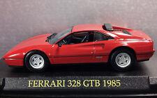 1/43 Ferrari 328 GTB 1985 Ferrari Collection De Fabbri Altaya IXO