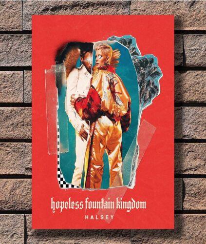 Halsey Hopeless Fountain Kingdom Music Album Poster Fabric 12 20x30 24x36 E-1459