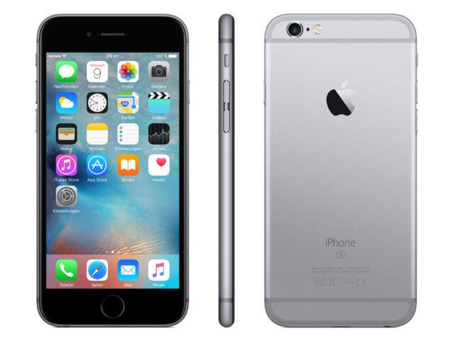 iPhone 6S 16GB 32GB 64GB spacegrau silber rose gold ohne Simlock NEU