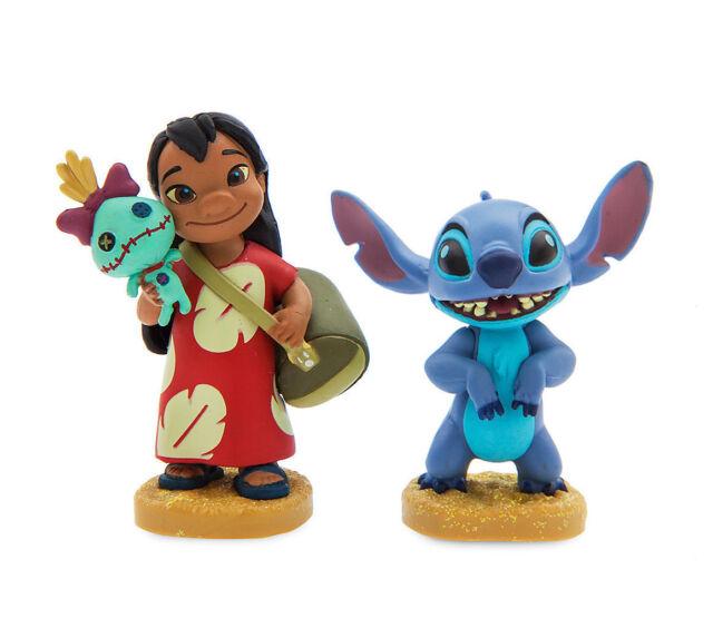 Disney Lilo & Stitch PVC Figure Set Birthday Cake Topper Decorating Supplies Kit