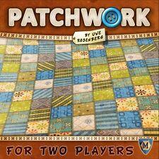 Patchwork 2 Player Board Game Mayfair Games Uwe Rosenberg MFG 3505