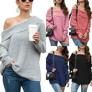 Women-Oversized-Long-Sleeve-Sweater-Baggy-Slouchy-Knitted-Sweatshirt-Jumper-Tops