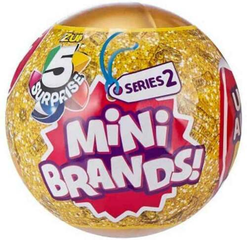 5 Surprise Mini Brands Series 2 Mystery Pack