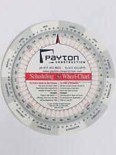 perpetual calendar chart