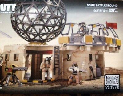 Mega Bloks Call of Duty 06818 Dome Battleground Collector Construction Set NEW