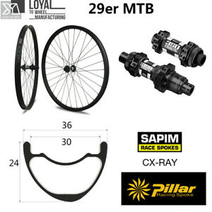 Carbon-wheelset-Super-Light-29er-MTB-XC-wheels-36mm-width-24mm-depth-with-DT-350
