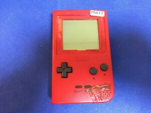 P6617-Nintendo-Gameboy-pocket-console-Red-GBP-Japan-x-DHL