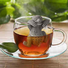 Novelty Sloth Tea Infuser Leaf Strainer Herbal Spice Filter Diffuser Silicone