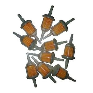 10-pcs-1-4-034-x-5-16-034-Universal-Inline-Fuel-Gas-Filters-Lawn-Mower-Small-Engine