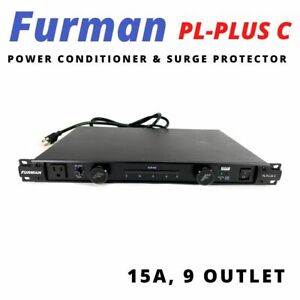 Furman PL-8C 15 Amp Classic Series Power Conditioner /& Surge Protector w//Lights
