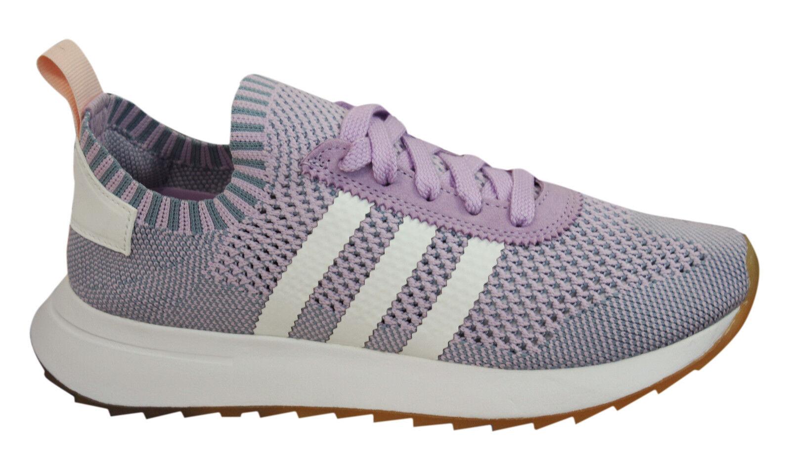 Adidas Originals Flash Back Primeknit Damenschuhe Trainers Lace Up Schuhes BY9103 U60