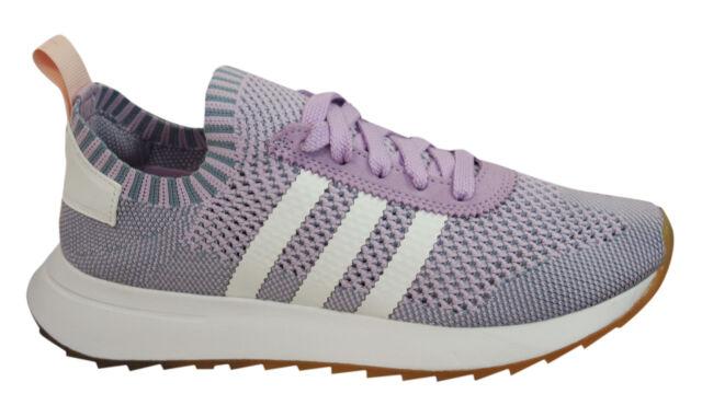 Adidas Originals Flash Back Primeknit Womens Trainers Lace Up Shoes BY9103  U60 e9f810635