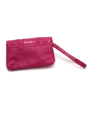 NEW LADIES SMALL PINK HANDBAG CLUTCH STYLE WITH WRIST STRAP DOROTHY PERKINS