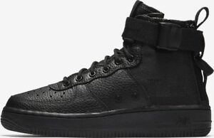 Clothing, Shoes & Accessories Nike Sf Af1 Mid Special Forces Gs Black Us Youth Grade School Sizes Aj0424-003 Reliable Performance Unisex Shoes