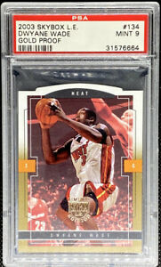 Dwyane-Wade-2003-04-Fleer-Skybox-LE-Gold-Proof-Rookie-RC-150-PSA-9-POP-1