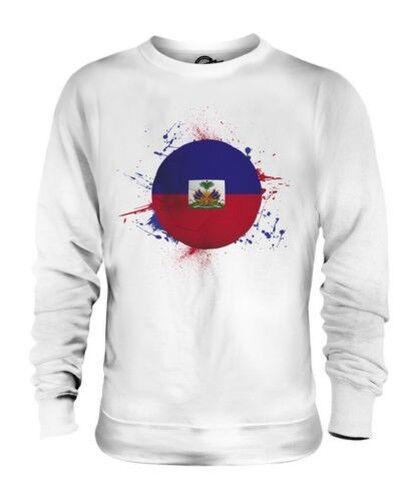 Haïti Football Unisexe Pull Cadeau Coupe Du Monde Sport