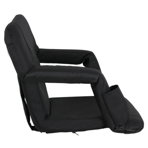 Details about  /5 Reclining Positions Stadium Seat Concert Competition Bleacher Chair 5 Angels