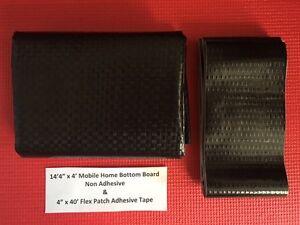 Mobile Home Bottom Board & Flex Patch Repair Tape Combo