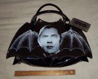 Rock Rebel Dracula Bat Shaped Purse Handbag