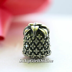 f1c4d2689 Image is loading NEW-AUTHENTIC-PANDORA-CHARM-SPARKLING-PINEAPPLE-791293CZ