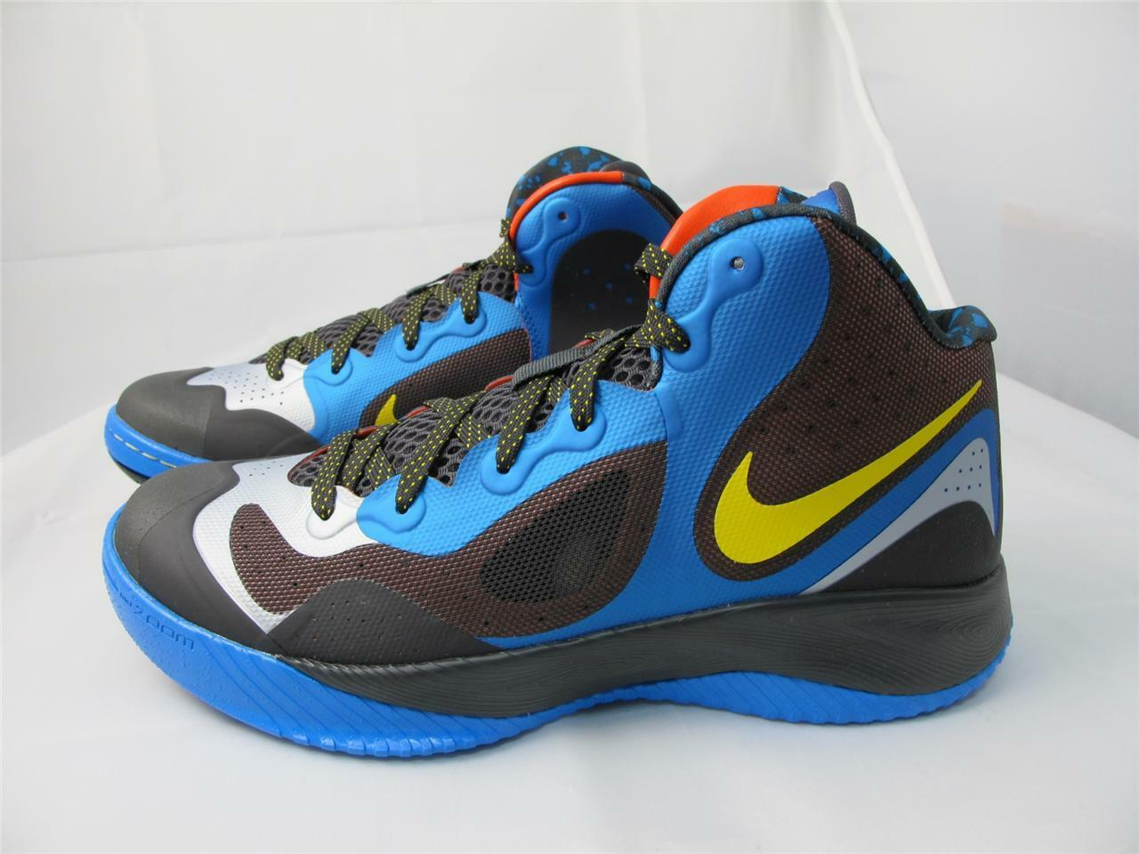 Seasonal price cuts, discount benefits NEW MEN'S NIKE ZOOM HYPERFRANCHISE XD 579835-400 PHT BL/ TR YLLW- NGHT STDM- PR