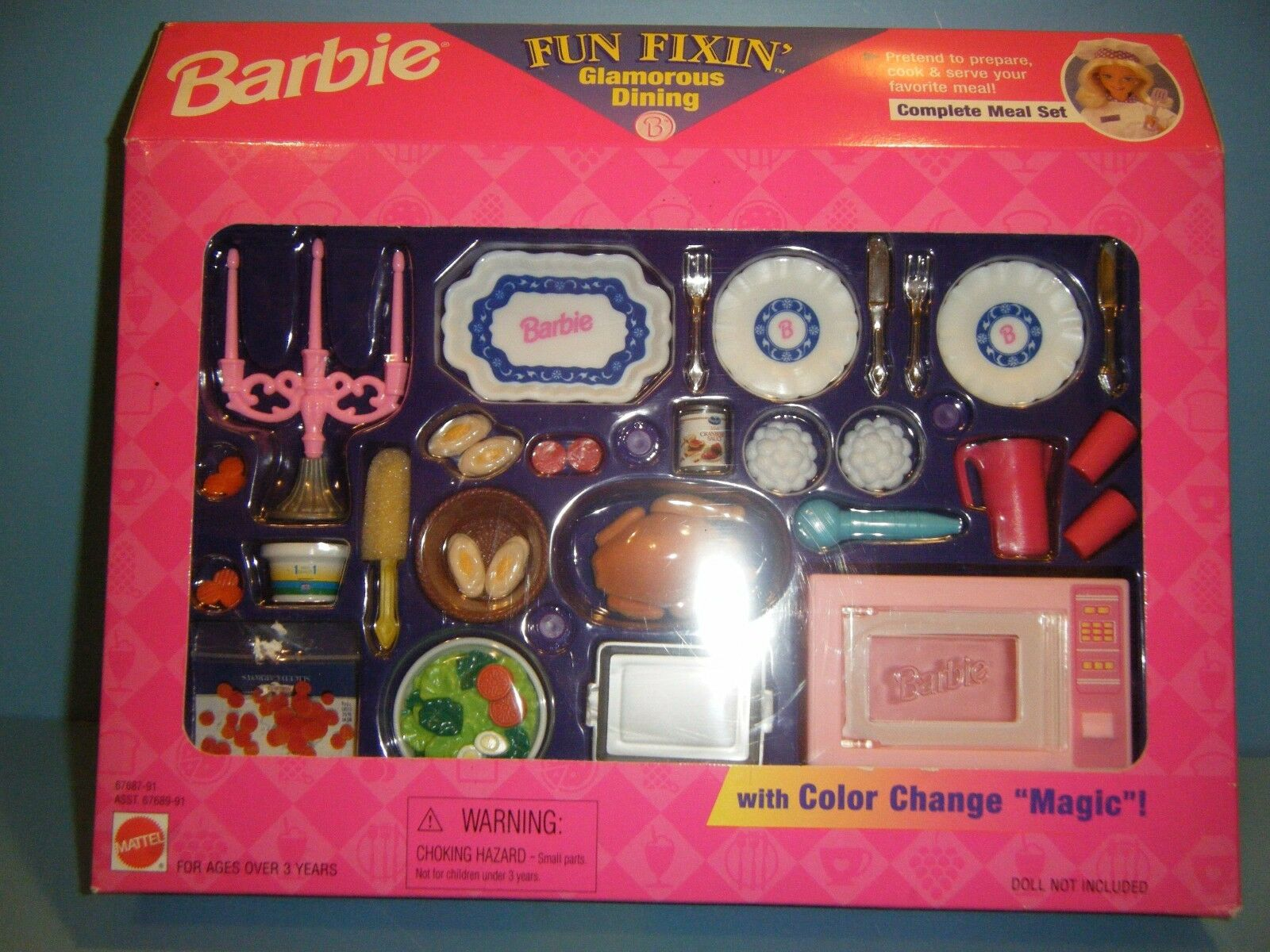 Barbie Fun mi..... glamoroso Comedor  Nuevo