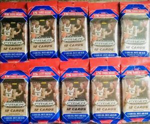2x20-21 Panini Prizm Draft Picks Basketball Hanger Cello Fat New Seal Lamelo RC