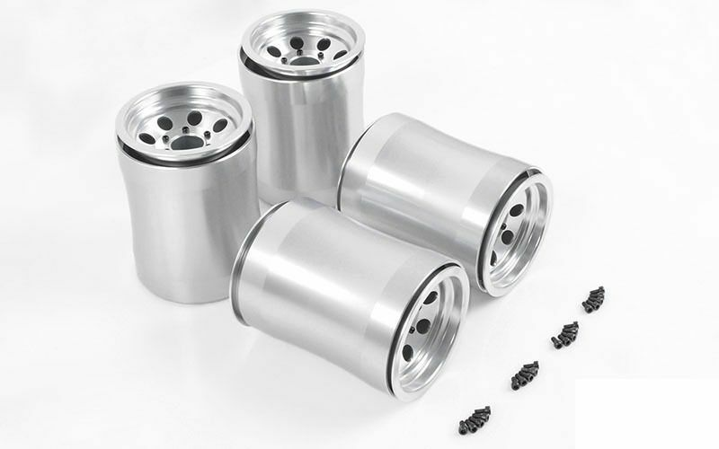 Demolisher Universal Wheels for Burnout 1 4 Scale Axle Z-W0197 LARGE WIDE RC
