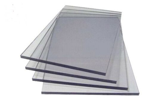 Clear Perspex Acrylic Sheet Panel Laser Cut To Size Plastic Extrude XT Material