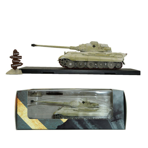 1//72 Atlas Tank Model Tiger Ⅱ Road Sigh Die Cast 1943 1945 Collection Rare Gift