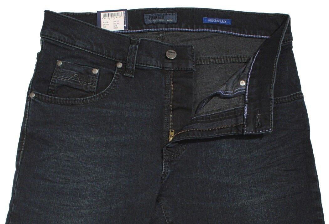 PIONEER Jeans RANDO MegaFLEX 1674 9761-440 darkBlau darkBlau darkBlau used mit Buffies Stretch 112624