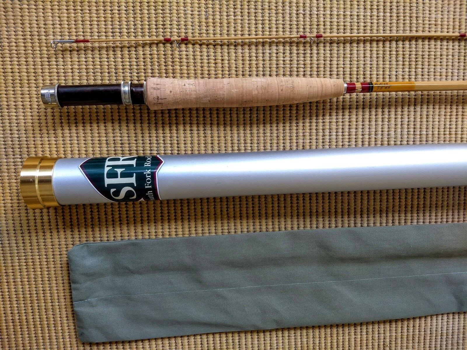New  1900 SFRC Dave Redington  5 wt Ranger Bamboo Fly Rod 7' 8  2 1  outlet