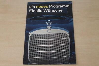 178453) Mercedes - Modellprogramm - Prospekt 07/1959