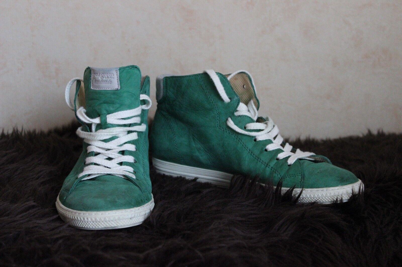 Damen Schuhe Turnschuhe Paul Grün Grün Größe 4,5