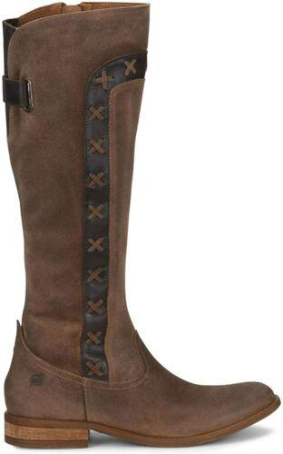 BORN Women's Albi Western Boot Round Toe Natural,