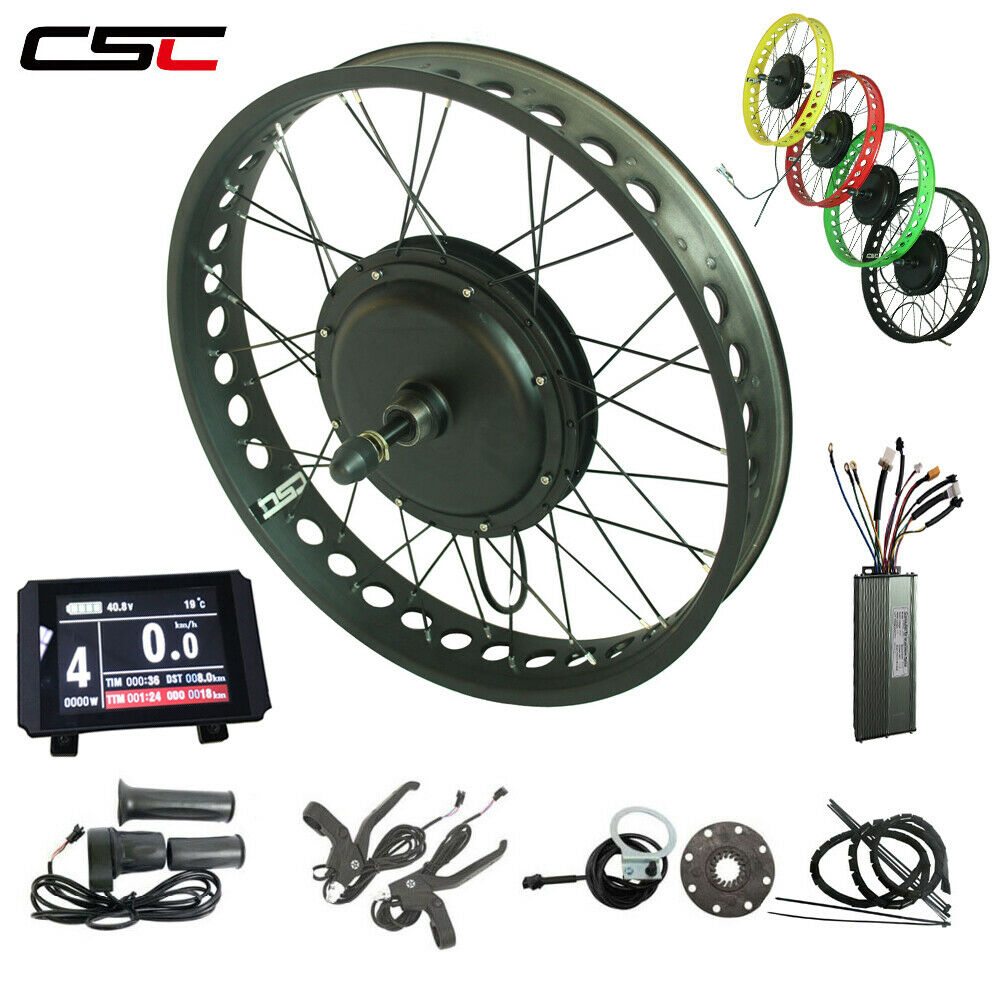 20  24  26  x4 48v  750w fat tire Electric bicycle conversion kit Brushless motor  inexpensive