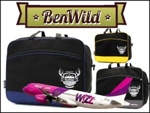 Wizzair 40x30x20cm Carry Hand Cabin Luggage Bag Travel Holdall Small Under Seat Ebay