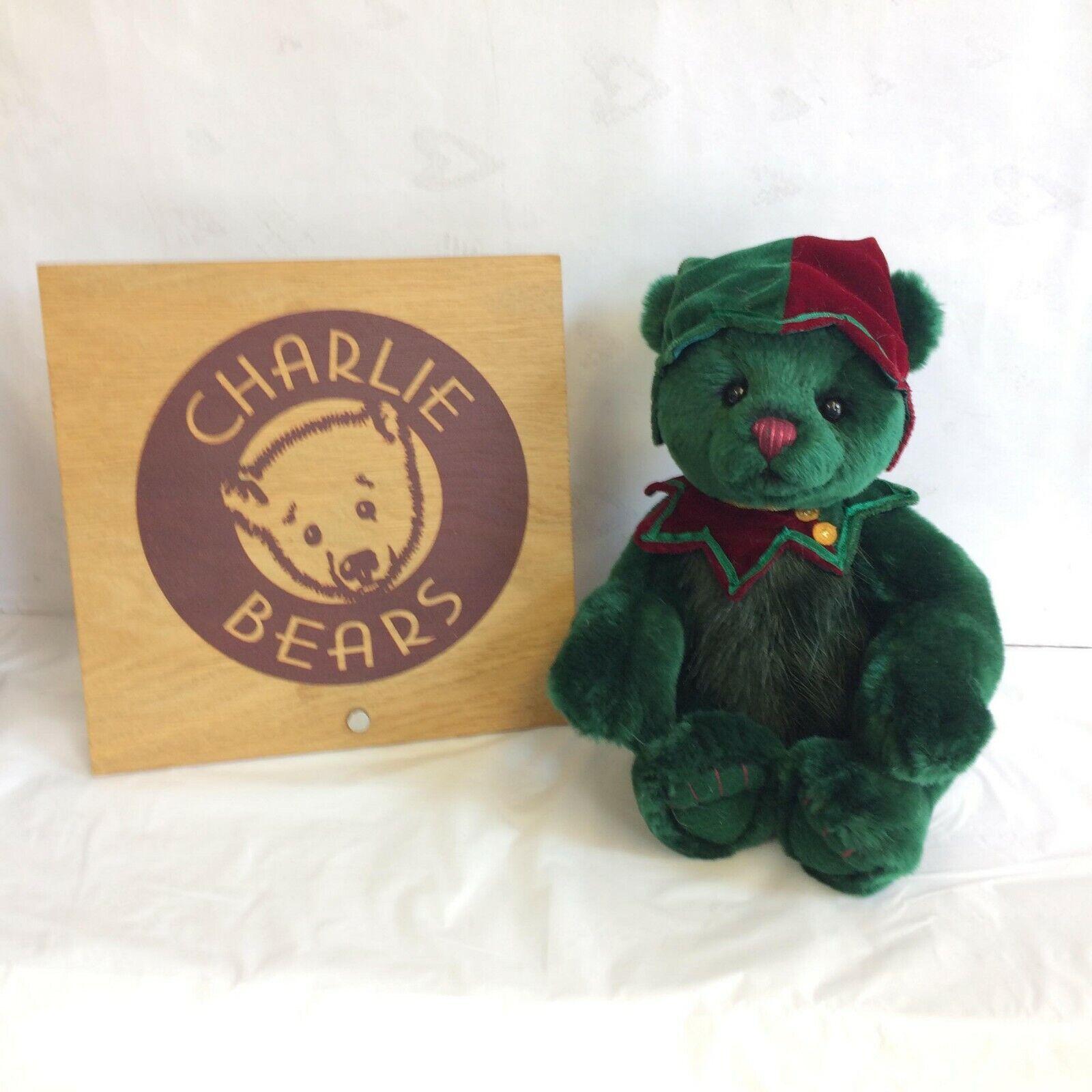 Charlie Bears Purrkins Plush Bear - BNWT - OFFICIAL STOCKIST