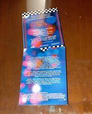 SPEED RACER MOVIE RED CARPER PREMIER INVITATION HOOGRAM CHRISTINA RICCI