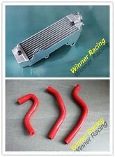 Aluminum Radiator& Silicone Hose HONDA CR80R/B;CR80 1997-2002/CR85R/B;CR85 03-07