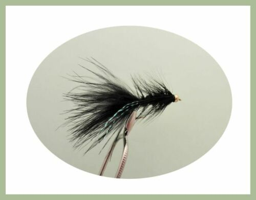 Trout Flies Woolly Buggers Size 10 Fishing Lures Nomads 18 Pack Tadpoles
