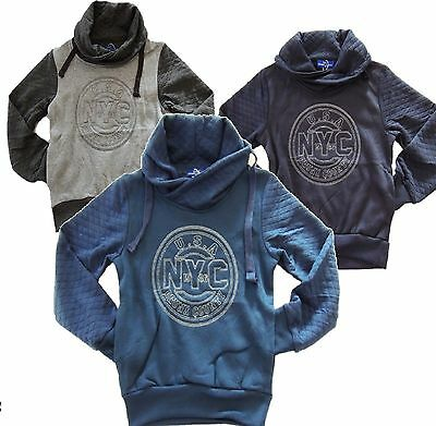 S&J~NEW YORK N.Y. C SWEATSHIRT~Jungen Sweathirt Kinder Pullover Hoodie~NEU Z 838