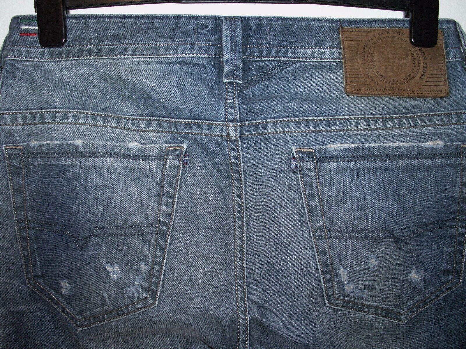 Diesel thavar-uk slim-skinny fit jeans wash 0813L W30 L32 (a2805)
