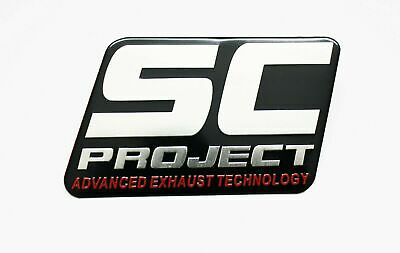 YOSHIMURA 3D EXHAUST HEATPROOF BADGE STICKER GRAPHIC DECAL MX ENDURO SUPERBIKE